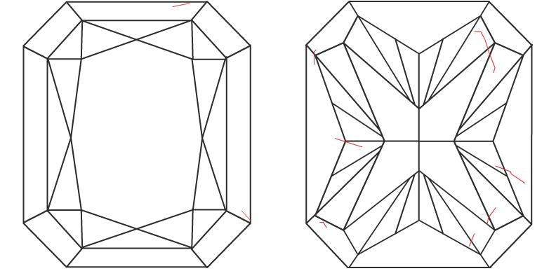 1.51 ct Radiant Diamond : L / SI1